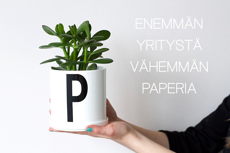 Paperiton taloushallinto - tehokkaan yrittäjän tunnusmerkki